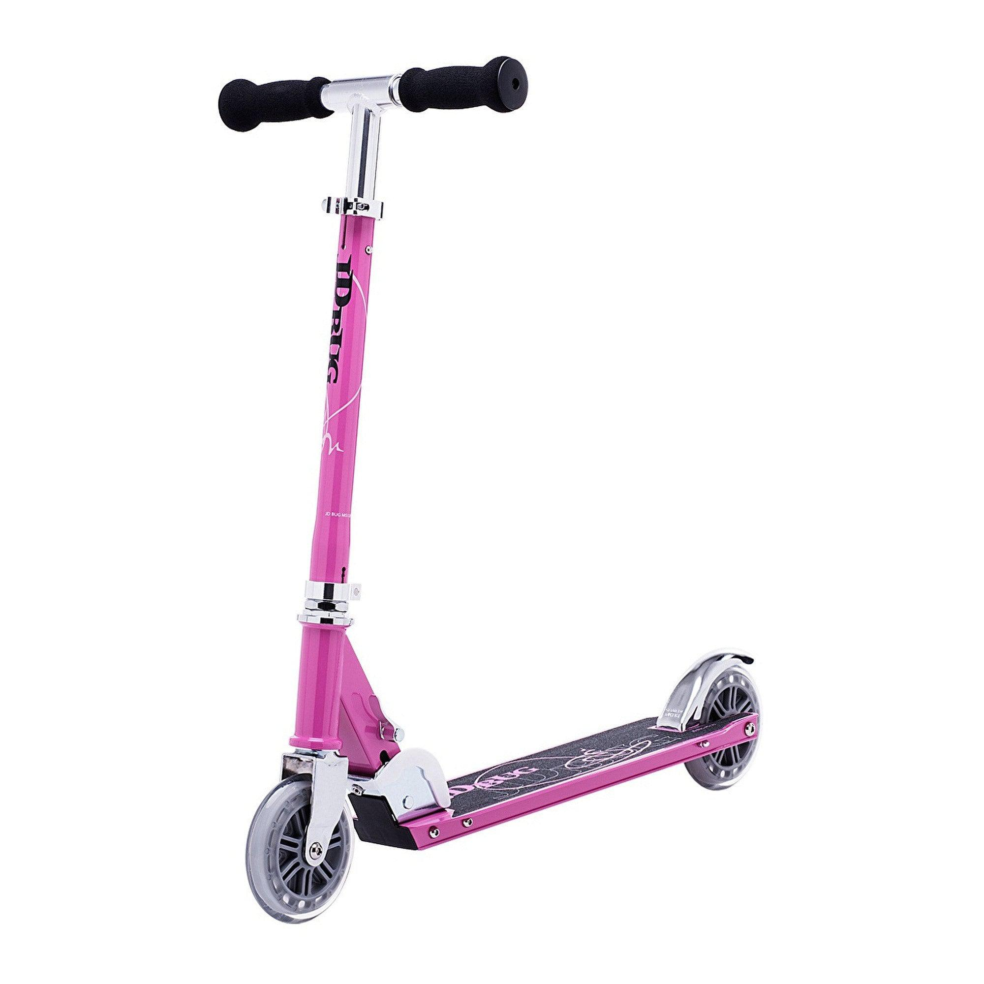 JD Bug Classic Street 120 Pastel Pink Scooter